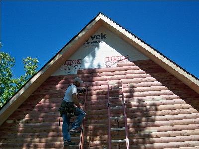 Siding For Sale >> Little Cedar Log Homes Red Cedar Log Homes Cabins Log